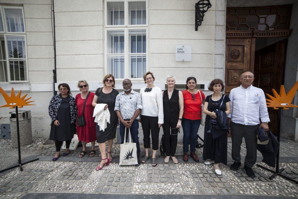 33. grafični bienale Ljubljana gosti srečanje International Biennial Association (IBA)